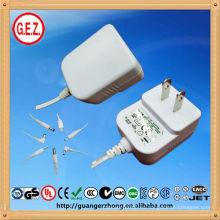 Adaptador de alta calidad de la fuente de alimentación de la CA DC SAA KC GS 12V 500mA AC