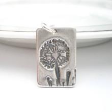 Уникальный подарок идеи из серебра желание Кулон