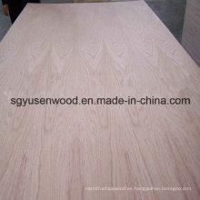 Madera contrachapada del grado de los muebles de la madera contrachapada de la chapa del abedul de la chapa de la madera dura 4 * 8