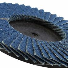 Outils de meulage de disque à lamelles en zircone
