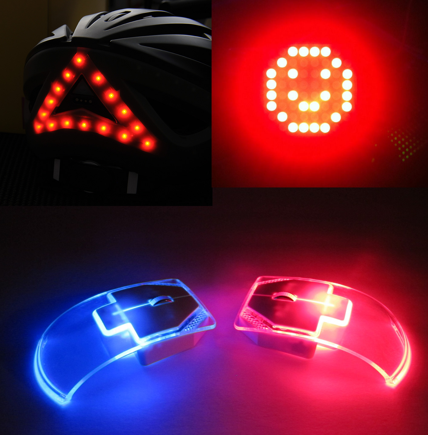 RED BLUE LED