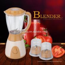 1.5L Tarro de plástico 3 en 1 buena calidad Electric Fruit Blender