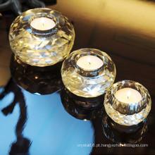 Embarcação de vela de cristal de vidro Eurpoean romântica