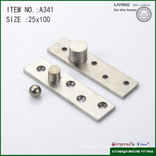 304 stainless steel off axis door pivot hinge A341 100*25