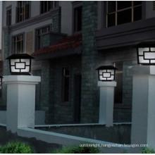 aluminum led Solar Pillar Lamp