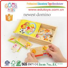 Brand New Kindergarten Kids Toy Matching Animal Wooden Puzzle Game
