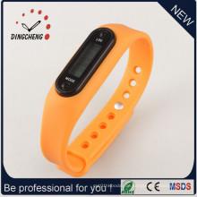 Günstige Förderung Silikon Schrittzähler Uhr / Schrittzähler Armband