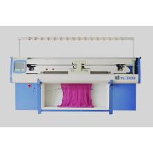 Machine à tricoter simple informatisée à trois systèmes