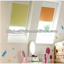 Colorful plisse skylight blind