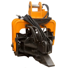 Unimate pile driver excavator mounted hydraulic vibro hammer side grip Hammer for sheet piling