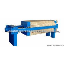 Manuelle hydraulische kleine Kammerfilterpresse