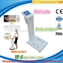 MSLCA01-I Machine personnelle d'analyse de graisse corporelle pour usage domestique / machine de test de graisse corporelle