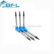 Herramientas de corte BFL Brocas rectas de carburo con recubrimiento AlTiN de vástago recto