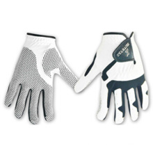 Gants de golf de haute qualité PU Golf Gloves colorés (512129)
