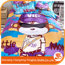 2016 New disign high quality low price Polyester printed bedsheets