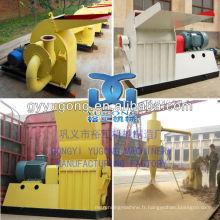 Yugong Brand Machine de concasseur de bagasse à la canne à sucre, moulin à biomasse