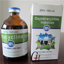 Inyección de oxitetraciclina 20% 100ml