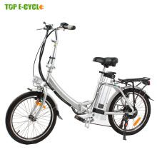 CE EN15194 2017 Vente Chaude Petit pliant vélo électrique pliant e vélo 20 pouce