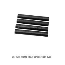 Трубка из углеродного волокна 3K с тканой твил-плэйн
