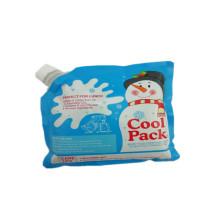 Синий пластиковый пакет для льда из алюминиевой фольги на заказ