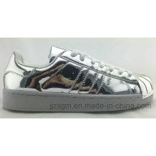 Fashion Mirror Surface Skate Shoes