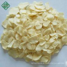 Organische Luft getrocknete weiße getrocknete Knoblauchflockenfabrik der neuen Ernte