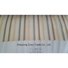 New Populäres Projekt Streifen Organza Voile Sheer Vorhang Stoff 008294