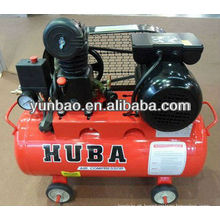 HUBA pistão mini correia acionada compressor de ar preço Z-0.036 / 8 1HP motor elétrico