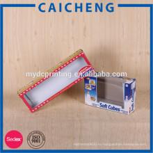 Серый бумажная коробка картона игрушек с упаковывать коробки окна
