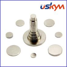 N35 Zinc Disc NdFeB Magnets (D-009)
