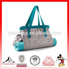 Design elegante à prova d 'água yoga mat bag sacola yoga com compartimento de yoga (es-z320