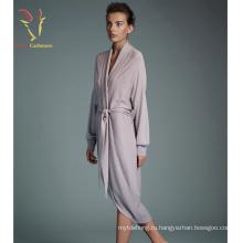 Одеяние леди мода кашемир трикотажные халат оптом