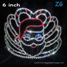 Coroa de Papai Noel Coroa de Natal Coroa de Crianças coroa 0891