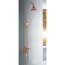 (YL5875-C) China Sanitär Bronze Malerei Gold-Plated Bad Wasserhahn