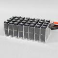 Günstiger Lippenstifthalter aus klarem Acryl mit 32 Fächern