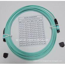 Cable de Fibra para Cable de Fibra MPO Om3 Ribbon 12