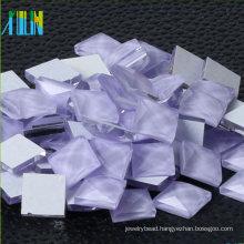 Wholesale Square Glass Stone flatback mirror rhinestones