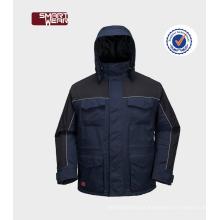 OEM China Alta qualidade barato inverno uniformes de segurança jaqueta