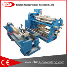 Machine de découpe de rembobinage de surface centrale pour feuille d'aluminium