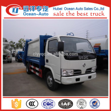dongfeng 5000 liter capacity of garbage truck, garbage truck price for sale