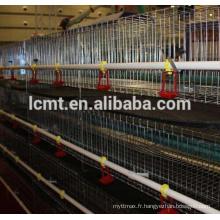 De Bonne Qualité Cage de poulet de poulets de bas prix pour l'équipement de volaille