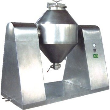 Small dry powder moving mixer