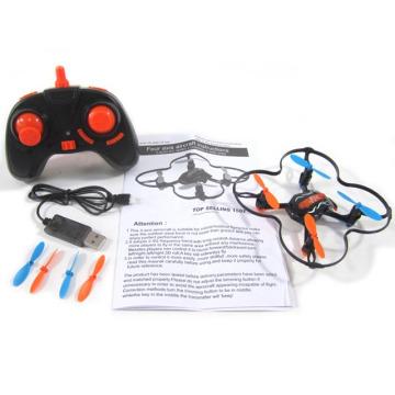 Mini abejón de 2.4G pequeño RC Quadcopter RC barato con el girocompás USB de 6 ejes