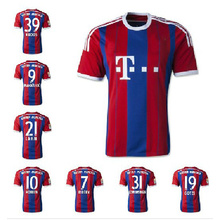 2014 2015 football club Bayern Munich grade original soccer jersey