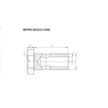 Acessórios Métricos Banjo 700M
