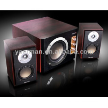 Altavoces multimedia de madera YM-3800 2.1