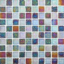 Mosaico de vidrio para el respaldo de la cocina del cuarto de baño