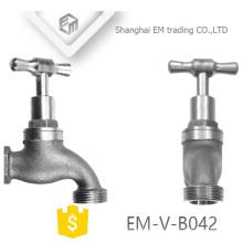 "EM-V-B042 Robinets à bibcock en alliage de zinc nickelé avec filetage 1/2 """