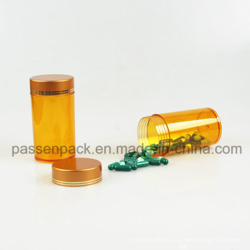 Frasco amarelo da medicina do animal de estimação para a embalagem da tabuleta (PPC-PETM-006)