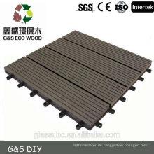 Preiswertes WPC-Außenboden, guter Preis WPC-Decking